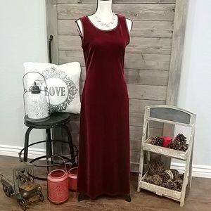 Vintage❤Carole Little Dress 💋💋 Red Velvet